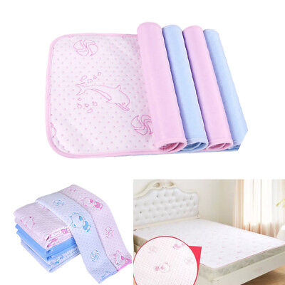 Reusable Waterproof Washable Incontinence Bed Pad Underpad Protector S M L