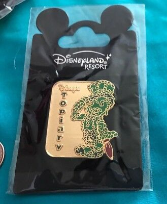 NEW in PACKAGE Disneyland JIMINY CRICKET ' TOPIARY ' Pin ~ FREE SHIPPING!