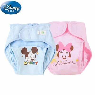 Disney BABY Underwear Cotton Adjustable Cloth Diapers Reusable Baby Pants