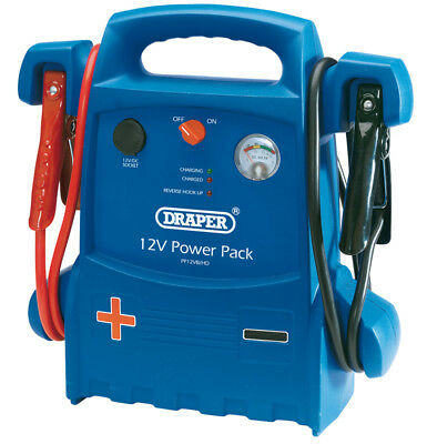 12V Heavy Duty Portable Power Pack (900A) Draper 40133