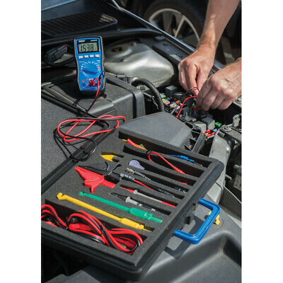 Draper Dmm301 Automotive Digital Multimeter, Blue - Multimeter 41822