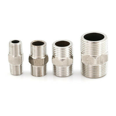 Stainless Steel 304 Male to Male Hex Nipple Threaded Reducer Pipe Fitting In UK