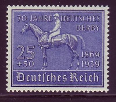 GERMANY Sc B144 NH ISSUE OF 1939 - RACEHORCE