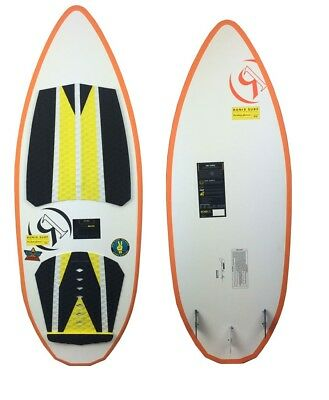 Ronix Skate Skimmer Hex Shell 4 ft 9 in Wakesurf Ylw/Blk/Wht-NEW LIMITED EDITION