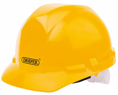 Draper Workshop / Protection Yellow Pe En 397 Safety Helmet / Hard Hat - 51138