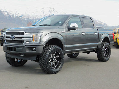 Ford F150 Platinum Lifted >> 2018 Ford F 150 Platinum Fx4