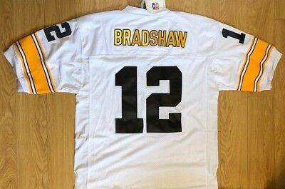1a114db4064 Authentic Mitchell & Ness Terry Bradshaw Pittsburgh Steelers Jersey, New w/  Tags