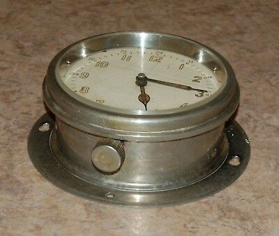 Boat Ship Watch Submarine Cabin Wall Clock Russian Navy Military Vintage USSR