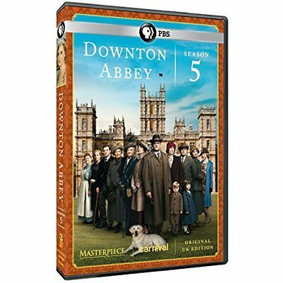 Masterpiece: Downton Abbey ...-Masterpiece: Downton Abbey Season 5 Dvd New