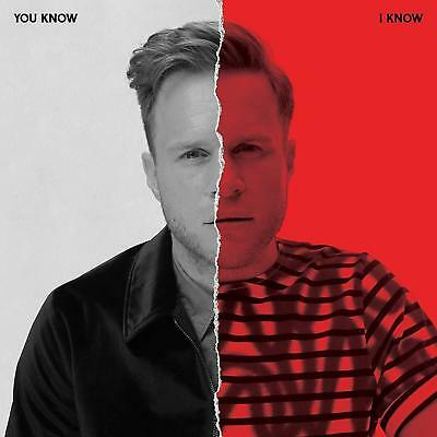 """Olly Murs - You Know I Know  ** NEW 2 x CD ** 2018 (sealed) incs """" Best Of """"  CD"""