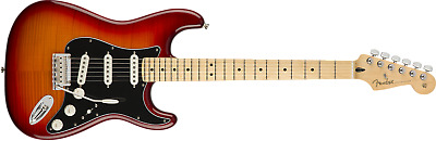 Fender Player Stratocaster Plus Top, Maple FB Aged Cherry Burst 885978910922 REP