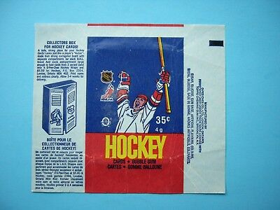 1986/87 O-Pee-Chee Hockey Card Wax Pack Wrapper Patrick Roy Rookie Cl Sharp+ Opc