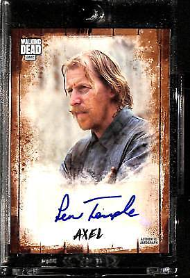 2018 Topps Walking Dead Autograph Collection Lew Temple as Axel 6/25