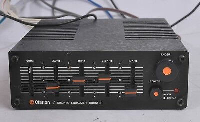 VINTAGE CLARION 100-EQB-2, 5 Band GRAPHIC EQUALIZER / BOOSTER