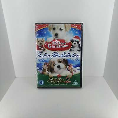 12 Dogs of Christmas Double Pack Collection 2 Films DVD -Fast and Free Delivery