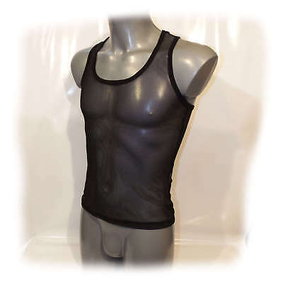 Muscle Shirt transparent anatomisch geformt Size XL (2341)