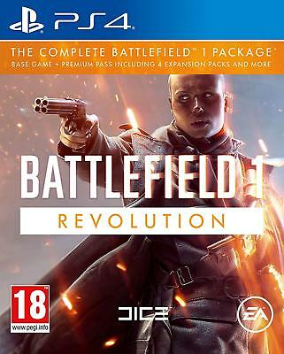 PS4 Spiel Battlefield 1 Revolution Edition Hauptspiel + Premium Pass 4 Add On´s