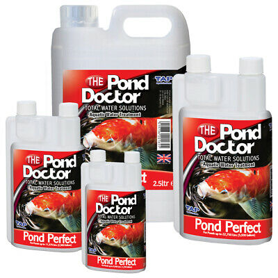 TAP Doctor Pond Perfect Anti Infection Sore Fungus Complete Disease Koi Fish