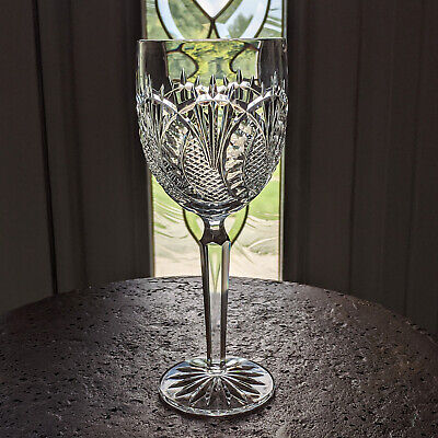 "Waterford Crystal SEAHORSE Water Goblet 8 1/2"" ~ Mint  Beautiful & Iconic"