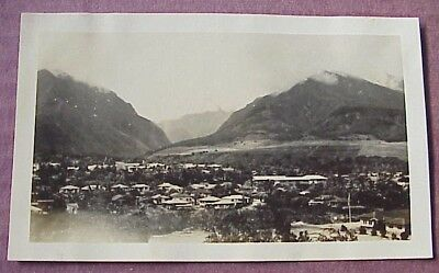 1940's Wailuku Maui Iao Valley WWII Era TH Hawaii