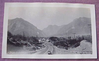 1940's Westward Main Street after Overpass Wailuku Maui WWII Era TH Hawaii