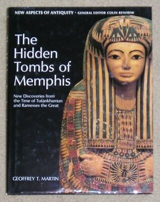 The Hidden Tombs of Memphis by Geoffrey T. Martin - HB/dj