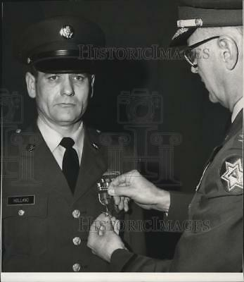 1970 Press Photo Eastern Washington University faulty Sgt. George L. Holland
