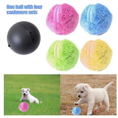 Milo Activation Automatic Plush Ball For Pet Dog Cat Fun Chew Electric Ball Toys