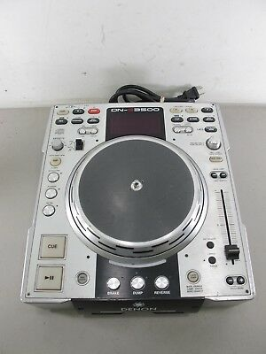 Denon DN-S3500 Professional DJ Deck Turntable CD / MP3 Player