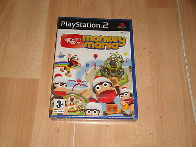 Eye Toy Monkey Mania Para La Sony Play Station 2 Ps2 Nuevo Precintado