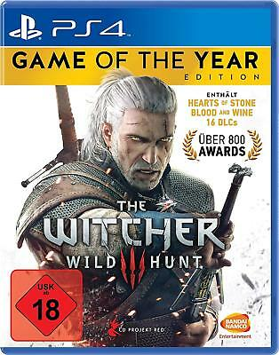 PS4 Game the Witcher 3:Wild Hunt - Game of the Year Edition Goty New