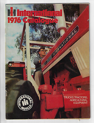 Ih International 1976 Brochure Catalogue 48 Pages