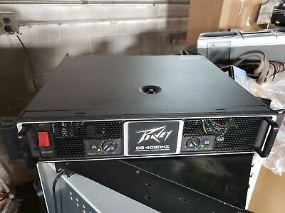 Peavey CS4080HZ Power Amp Amplifier Rated 2040 Watts Per Channel