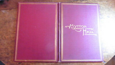 Rare 1893 Catalogue Contents Of Mitton Hall Whalley Clitheroe Lancashire Mytton