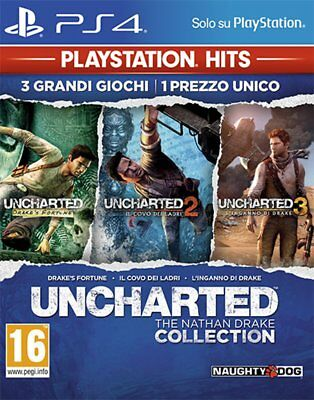 Uncharted:The Nathan Drake Coll. PS Hits PS4 - totalmente in italiano