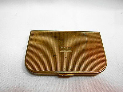 Vintage Coty New York Good Luck Ladies Compact