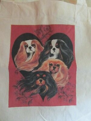 Colors of the Heart Cavalier King Charles Spaniel  Budget Tote