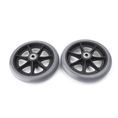 """2pcs 6"""" Wheelchair Casters Small Cart Rollers Chair Wheels Accessories New"""