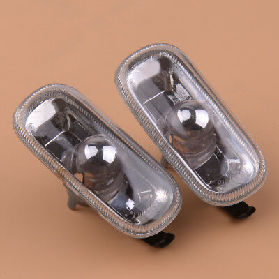 2pcs Side Marker Indiator Fender Turn Signal Light Lamp for Audi A3 A4 A6 RS4 S6