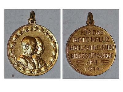 AUstria WW1 RED CROSS Medal 1914 1918 Military United Kaisers Decoration KuK WWI