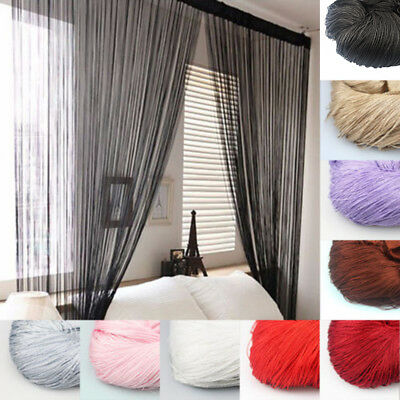 Window String Curtain Door Fly Screen Room Divider Modern Fashionable Fashion