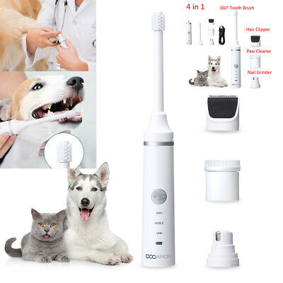 Professional Pet Dog Cat Nail Trimmer Grooming Tool Grinder Electric Pet Beauty