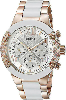 W0149l6 ladies Case white Tone Function Guess Multi stainless b6f7gy