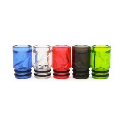 Anti Spit back Spiral 510 Drip Tip Colored Mouthpiece For 510 Tank/RTA/RDA