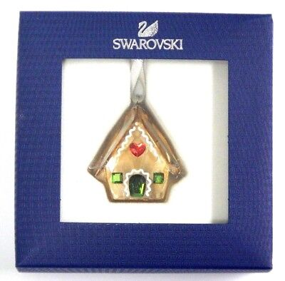 Gingerbread House Ornament 2018 Holiday Christmas Swarovski Crystal 5395977