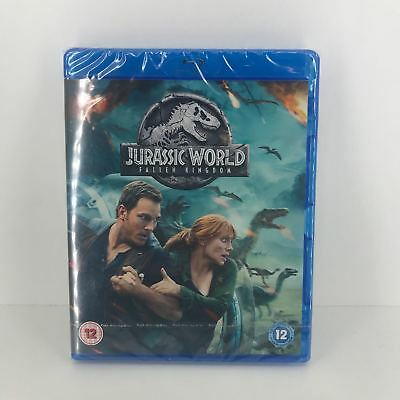 Jurassic World Fallen Kingdom Blu-ray - New and Sealed Fast and Free Delivery