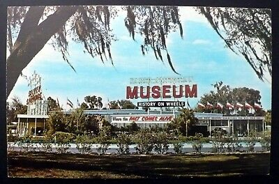 1950s Early American Museum, Silver Springs FL History on Wheels
