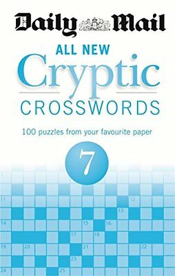 Daily Mail All New Cryptic Crosswords 7 __ Brand New __ Freepost Uk