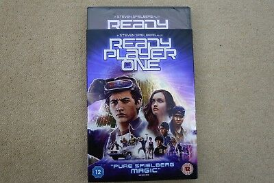 Ready Player One   Brand New Sealed Genuine Uk  Dvd