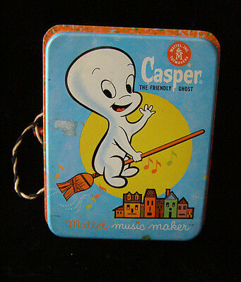 Casper The Friendly Ghost Music Maker Mattel 1963